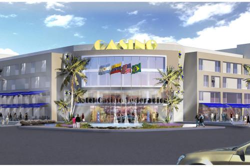 Hotel Casino Federación Render Día