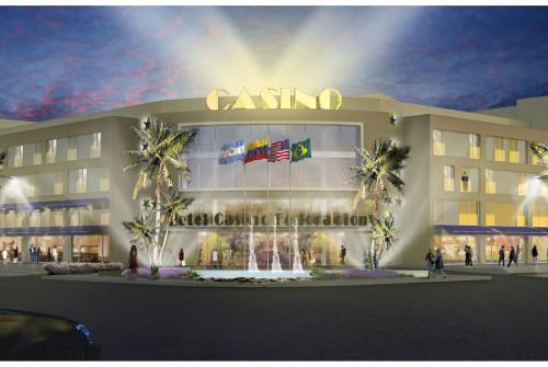 Hotel Casino Federación Render Noche