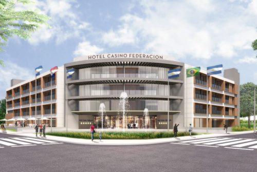Hotel casino Federación render exterior 1