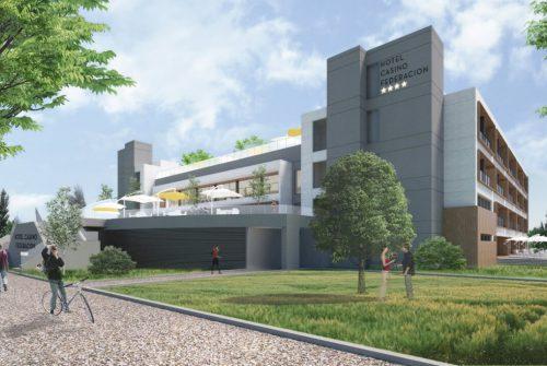 Hotel casino Federación render exterior 2